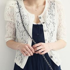 Buy 'NANING9 – Elbow-Sleeve Lace Cardigan' at YesStyle.com plus more South Korea items and get Free International Shipping on qualifying orders.