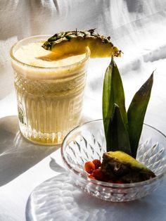 Sea buckthorne Colada drink