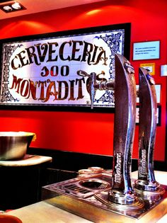 100 (Cien) Montaditos is a popular and cheap fast food restaurant that can be found throughout Spain