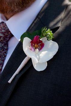 orchid buttonhole www.violamalva.it