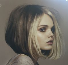 Bright blonde face framing balayage highlights hair by rachel fife two tones bob lob with face framing highlights classy solutioingenieria Gallery