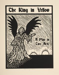 The King in Yellow | The Art of Liv Rainey-Smith