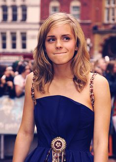 emma watson | I loved her hair