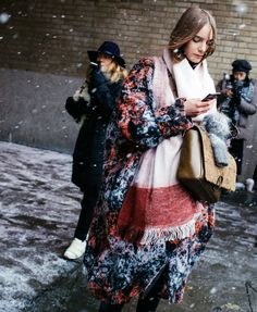 Phil Oh's Best Street Style Pics From New York Fashion Week / 3.1 Phillip Lim coat