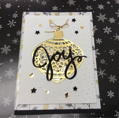 "Cheryl Algie ""Independent Stampin' Up! ® Demonstrator"" : Shaker card for Christmas"