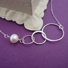 Etsy - Eternity Circle Necklace