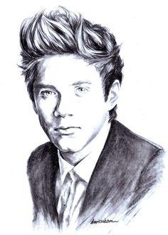 1D Artwork - Niall Horan.