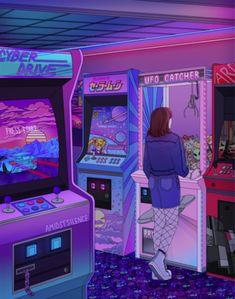 Anime, vaporwave, cyberpunk, retrowave and dark aesthetic stuff.