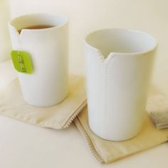 "Le tazze di Pa Design ""Zipper Cups"""