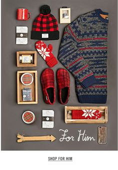 Winter for him organized