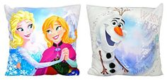 Character World New Disney Frozen Anna Elsa and Olaf Crystal Reversible Pillow Cushion Another great product from ALECTRO TOYS Product Description Frozen Elsa and Olaf Reversible Cushion. Is a great cushion for all the kiddies, it comes with the Disney Froz (Barcode EAN = 0634397720175) http://www.comparestoreprices.co.uk/childrens-bedding/character-world-new-disney-frozen-anna-elsa-and-olaf-crystal-reversible-pillow-cushion.asp
