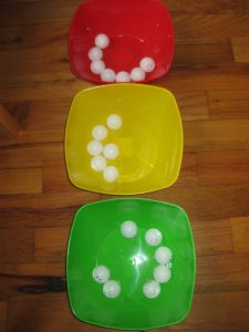 Feelings and emotions with ping pong balls. Teaching Emotions, Feelings And Emotions, Teaching Kids, Zones Of Regulation, Self Regulation, Social Work, Social Skills, Mad Face, Executive Functioning