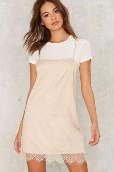 Get Some Slip Mini Dress