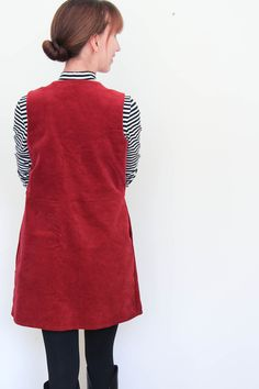 Winter Capsule Wardrobe - Mein Latzkleid aus Cord | Rapantinchen