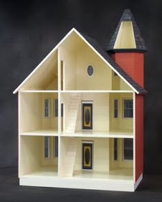 Little Darlings Dollhouses: The Painted Lady Dollhouse