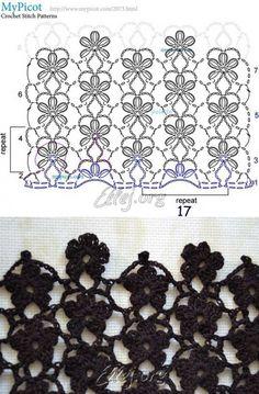 Diy Crafts - Creative Contents about DIY & Crafts, Knitting, Hairstyles, Beauty and more - Diy Crafts Crochet Flor De 8 Petalos Diy Crafts 5967270 Crochet Motifs, Crochet Diagram, Crochet Stitches Patterns, Crochet Chart, Knitting Patterns, Diy Crafts Crochet, Crochet Projects, Crochet Flowers, Crochet Lace
