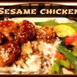 Sesame Chinese Chicken Recipe