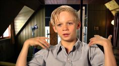 """The Book Thief: Nico Liersch """"Rudy"""" On Set Movie Interview HE'S SO ADORABLE!!!!"""