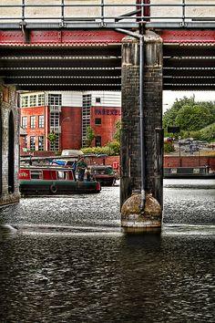 Sheffield, England - Canal Basin