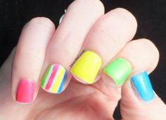 Emma's Little Corner: Neon Skittles
