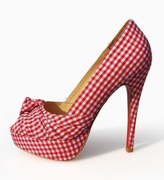 Dorothy? love these with jean shorts and a plaid shirt. country class!