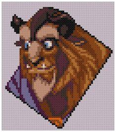 PDF Cross Stitch pattern 0023.Beast Beauty and the by PIXcross
