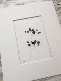 Original Art Pebble Art Wall Art Sharon Nowlan Simple