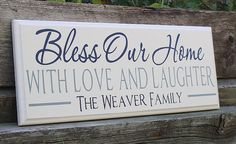 Family plaque-realtor closing gift-family name by TaylorSigns