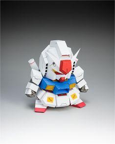 Blog_Paper_Toy_papercraft_Gundam_5cm_Gundam_pic1