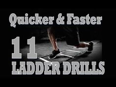If you want to get quicker footwork that'll make you a better player, check out these 11 Ladder Drills and get more elite level drills from www. Speed Drills, Best Player, Basketball Players, Workouts, How To Get, Training, Check, Free, Work Outs