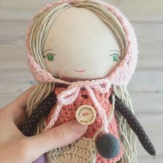 """116 Me gusta, 10 comentarios - Otto & Anna - Handmade Dolls (@ottoandanna) en Instagram: """"Ready for the winter and also for a new forever home  #dollmakers #worldwideshipping"""""""