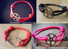 The Fixed Gear World: #FixieBracelet | The Fixed Gear World Bracelets - Get your own!
