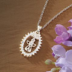 Guardian Angel Necklace at Creative Irish Gifts.