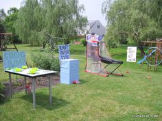 Backyard Carnival Birthday Party - A Turtle's Life for Me