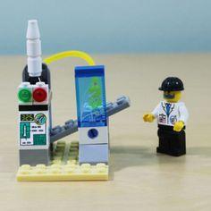 Creative Lego Compatible Building Blocks Space Office_Space series(36pcs)…