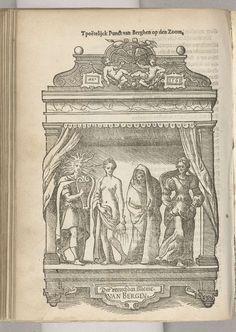 Anonymous | Blazoen van De Lelie (Diest), 1561, Anonymous, 1561 - 1562 | Blazoen van De Lelie, rederijkerskamer van Diest. Voor het Landjuweel van Antwerpen in 1561.