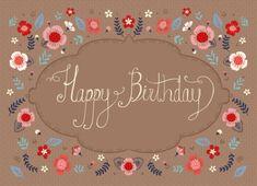 Pimlada Phuapradit - Floral Happy Birthday Card_02