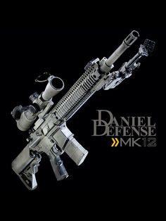 Daniel Defense MK12 - perfect!