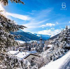 """Davos, Switzerland  Hotel & Credits: @rixosflueladavos Tag your best hotel photos with #beautifulhotels ❄️"""