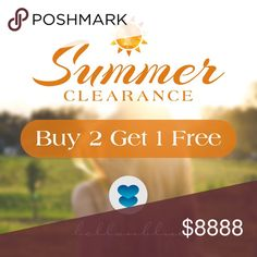 🎉BUY 2, GET 1 FREE Summer Clearance Sale🎉 🎉BUY 2, GET 1 FREE Summer Clearance Sale🎉  💙BUY 2, GET 1 FREE on ALL SUMMER ITEMS💙   ‼️FREE item must be of equal or lesser value‼️   ❤️Items must be purchased at ORIGINAL asking price.   🚨🚨SALE ENDS SEPTEMBER 6TH🚨🚨   ‼️Handbags, clutches, wallets, all shoes & NEW/FALL ITEMS ARE NOT included in sale.‼️   Thanks for visiting. Happy Poshing! Bellanblue Bags