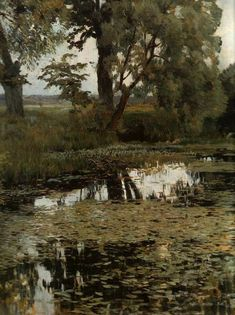 Russian Landscape Painter Isaak Levitan (1860-1900) ~ Blog of an Art Admirer