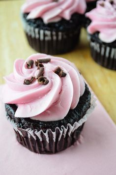 """Death By Chocolate"" Black Forest Cupcakes #TheKosherCaveGirl"