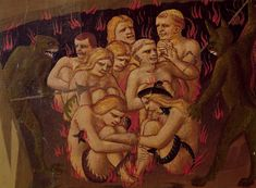 From The Last Judgement, hell, demons