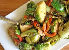 brussels sprouts shredded brussels sprouts of this thai style brussels ...