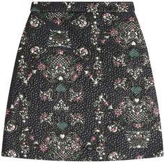 MSGM Jacquard Mini Skirt ($185) ❤ liked on Polyvore featuring skirts, mini skirts, bottoms, msgm, юбки, multicolored, pink skirt, short pink skirt, metallic skirt and pink mini skirt