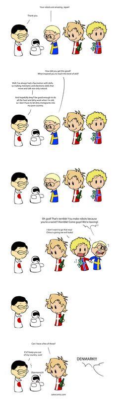 Robots! - Scandinavia and the World