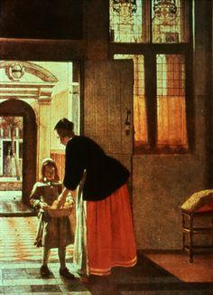 "pieter de hooch paintings   Pieter De Hooch: ""Pomegranites"""