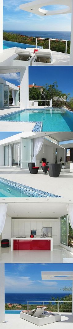 Oceanvillas Curacao is a Brand New Modern Luxury Villa Rental with 180 degree ocean views of the azure Caribbean sea....