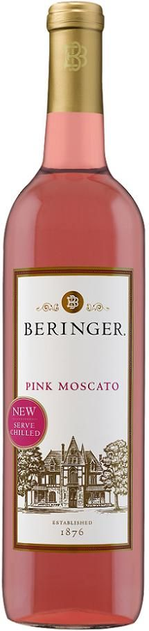 I've tried many Moscato wines and Beringer is the BEST!  Beringer Pink Moscato. Moscato has been recognized as the worlds oldest grape variety and is celebrated in wine regions across the globe for its intense floral aroma.
