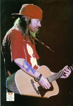 Axl Rose of Guns N' Roses, early '90s - Rarely With Guitar